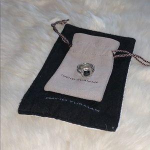 David Yurman Petite Albion Ring with diamonds 💎